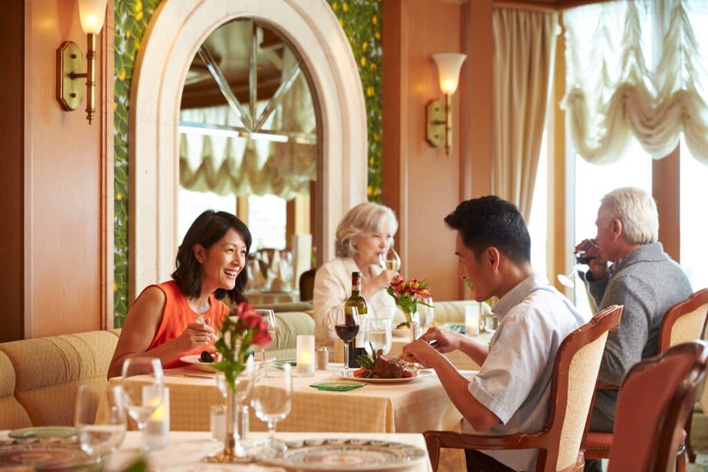 Cruiseschip-Crown Princess-Princess Cruises-Restaurant
