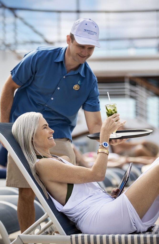 Cruiseschip-Caribbean Princess-Princess Cruises-Deck