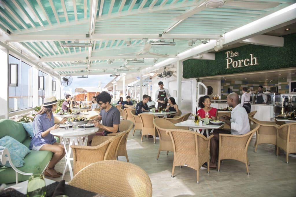 Cruiseschip-Celebrity Equinox-Celebrity Cruises-Restaurant The Porch