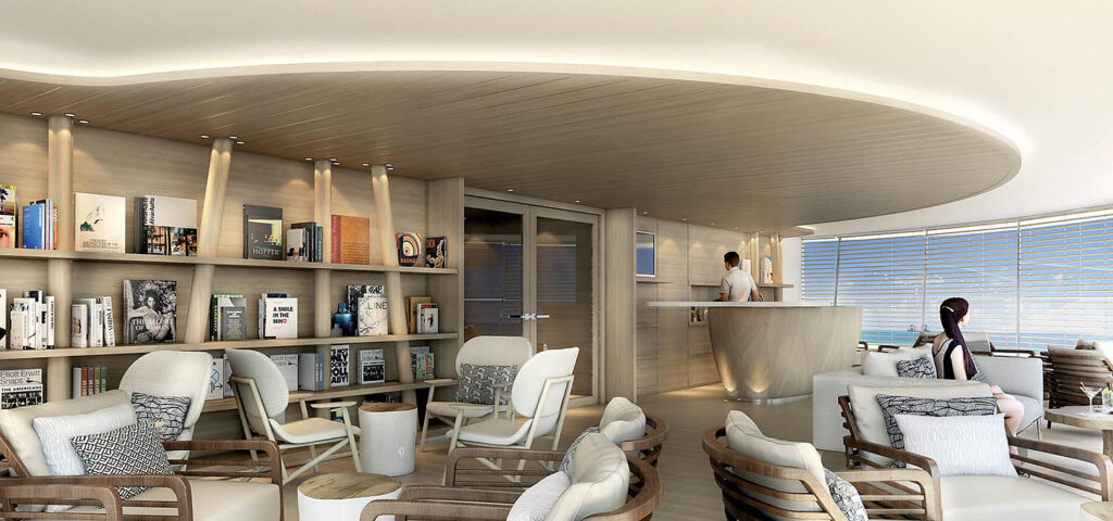 Cruiseschip-Le Bellot-Le Champlain-Le Laperouse-Ponant Yacht Cruises-Panorama Lounge