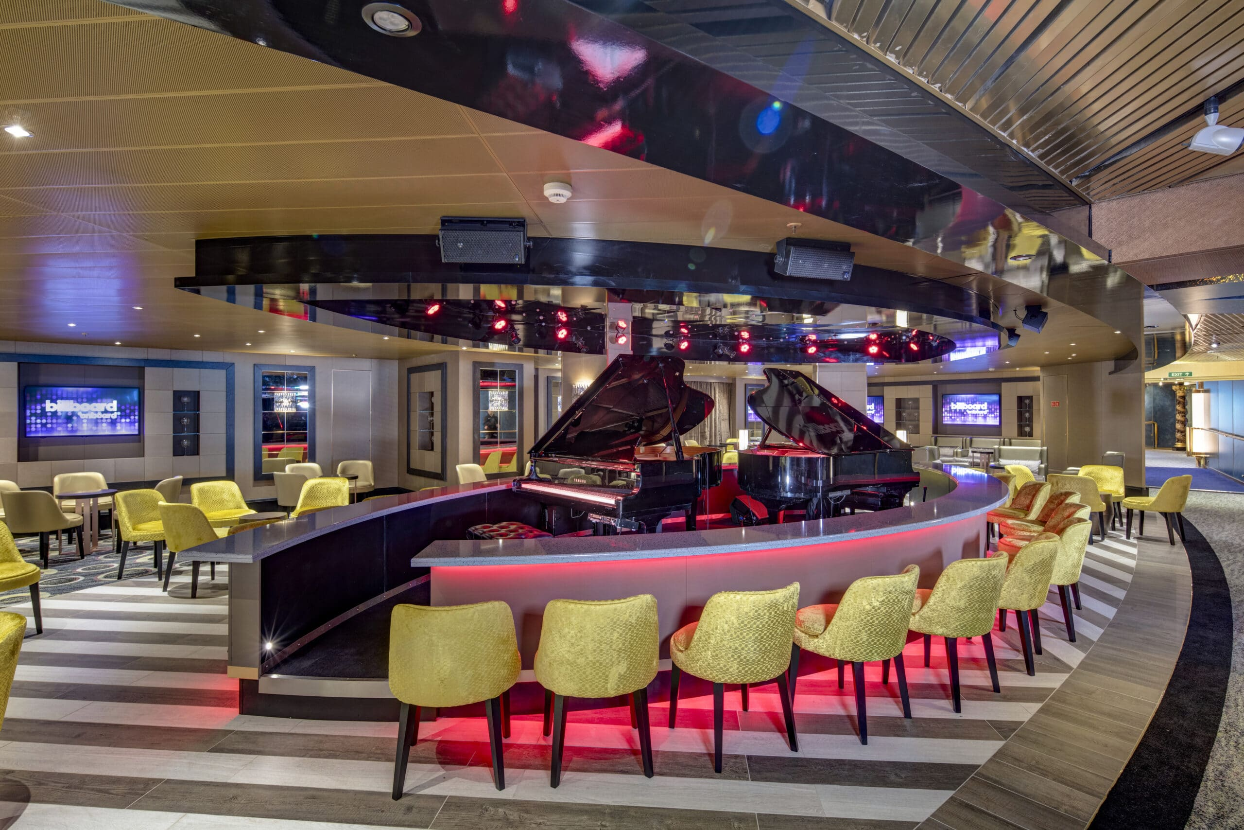 cruiseschip - Holland America Line - Noordam - Piano Bar