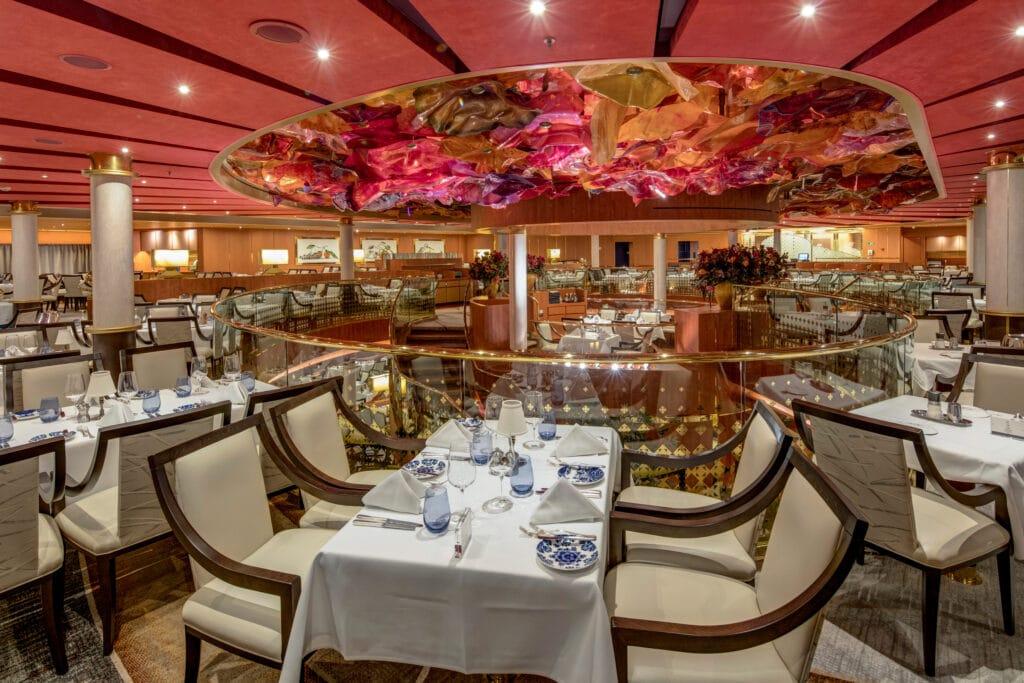 cruiseschip - Holland America Line - Noordam - Main Dining Room Restaurant