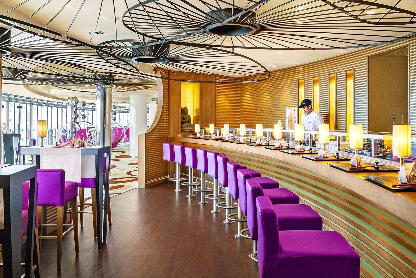 Cruiseschip-AIDAprima-AIDA-Sushi Bar