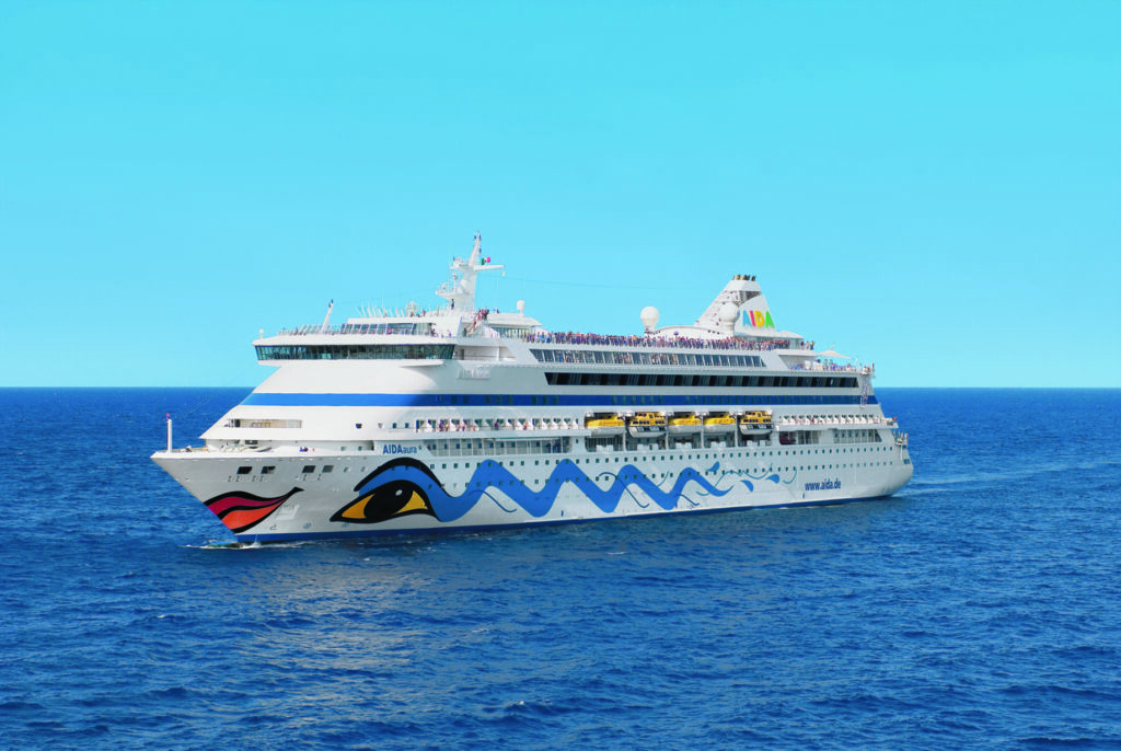 Cruiseschip_AIDAaura-AIDA-Schip