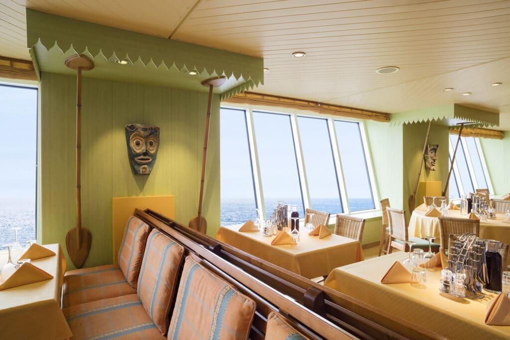 Cruiseschip-AIDAaura-AIDA-Calypso Restaurant
