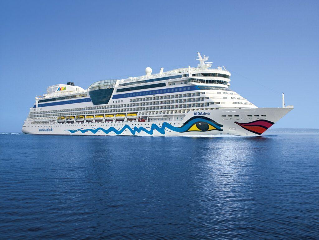 Cruiseschip-AIDAdiva-AIDA-Schip