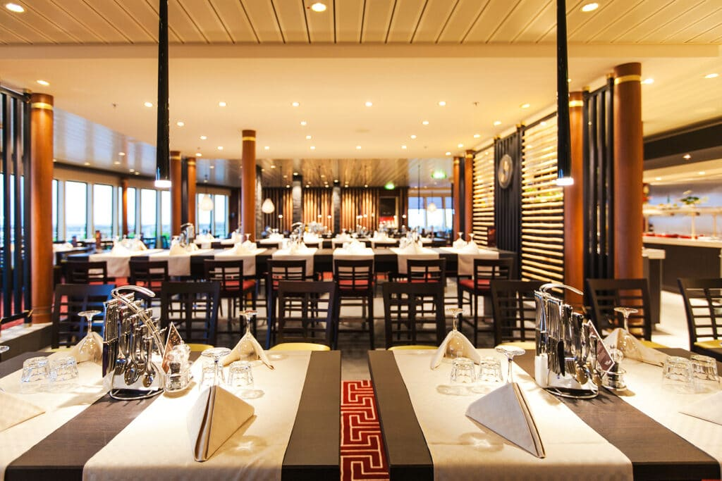 Cruiseschip-AIDAblu-AIDA-Restaurant