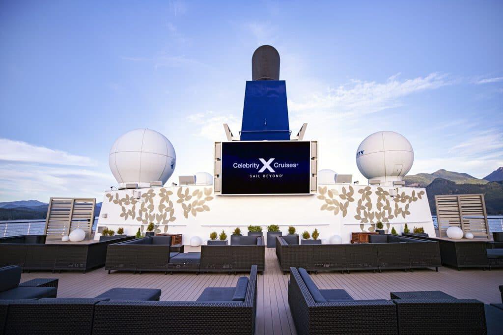 Cruiseschip-Celebrity Millennium-Celebrity Cruises-Rooftop Terras