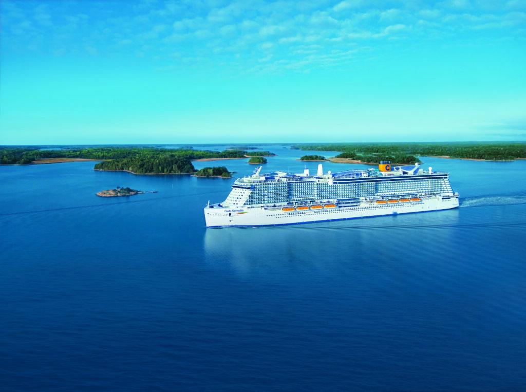 Cruiseschip-Costa Smeralda-Costa Cruises-Schip