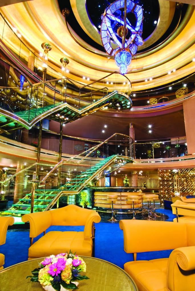 cruiseschip - Holland America Line - Noordam - Atrium