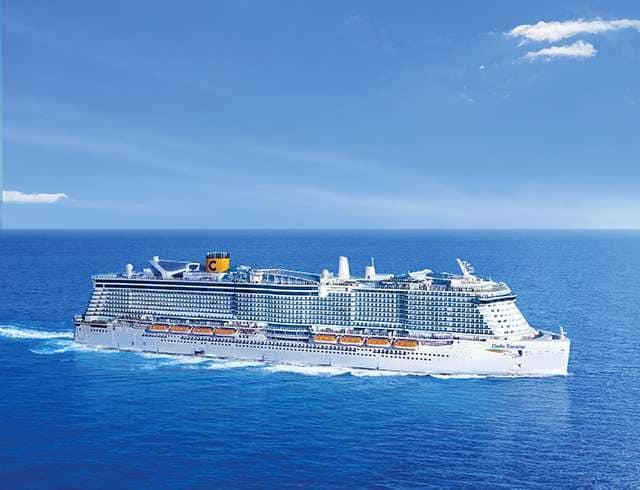 Cruiseschip-CostaToscana-Costa Cruises-Schip