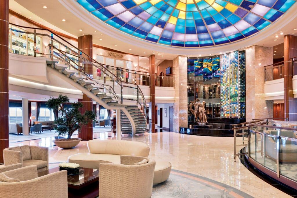 Cruiseschip-Crystal Serenity-Crystal Cruises-Atrium