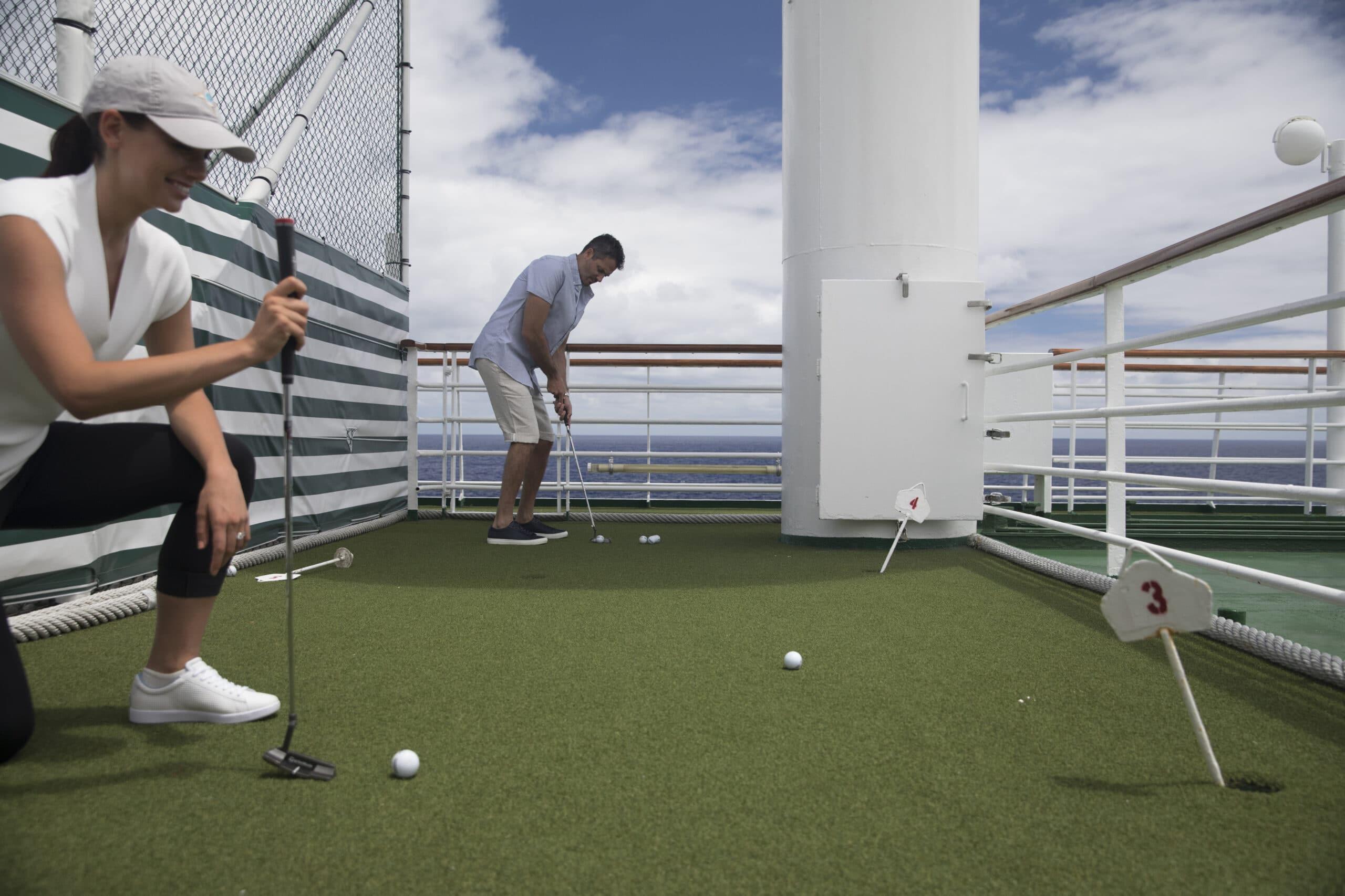 Cruiseschip-Crystal Symphony-Crystal Cruises-Golf