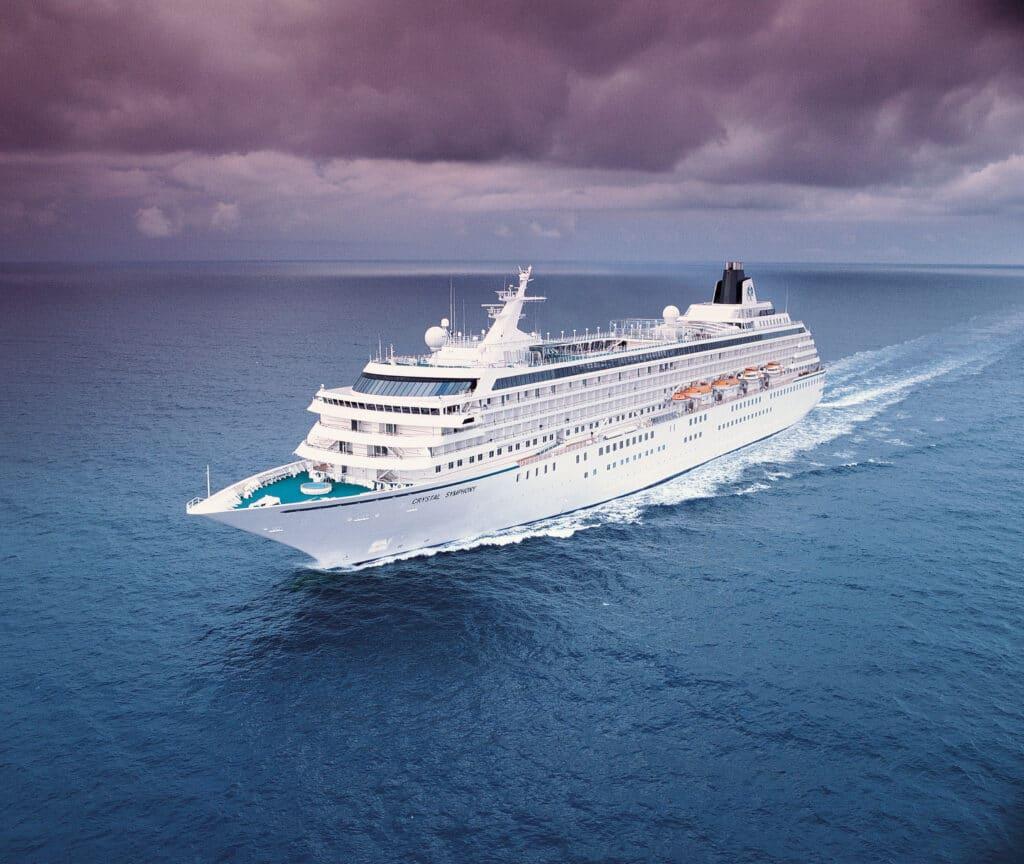 Cruiseschip-Crystal Symphony-Crystal Cruises-Schip