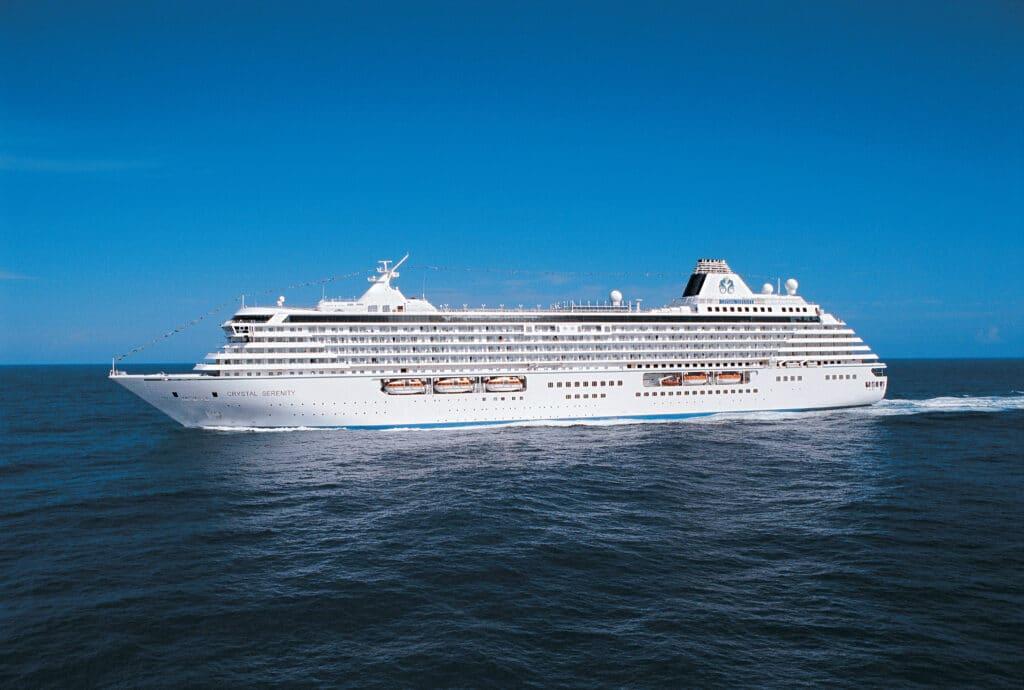 Cruiseschip-Crystal Serenity-Crystal Cruises-Schip