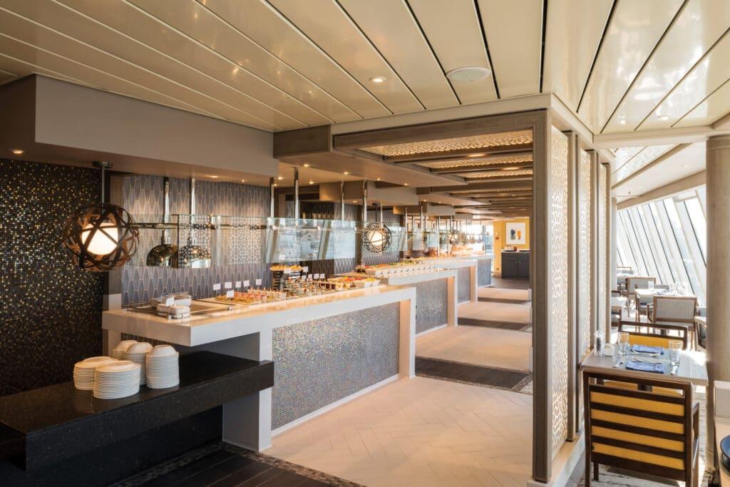 Cruiseschip-Crystal Serenity-Crystal Cruises-Lido Cafe