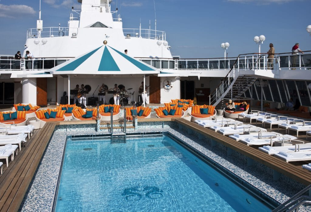 Cruiseschip-Crystal Serenity-Crystal Cruises-Pool