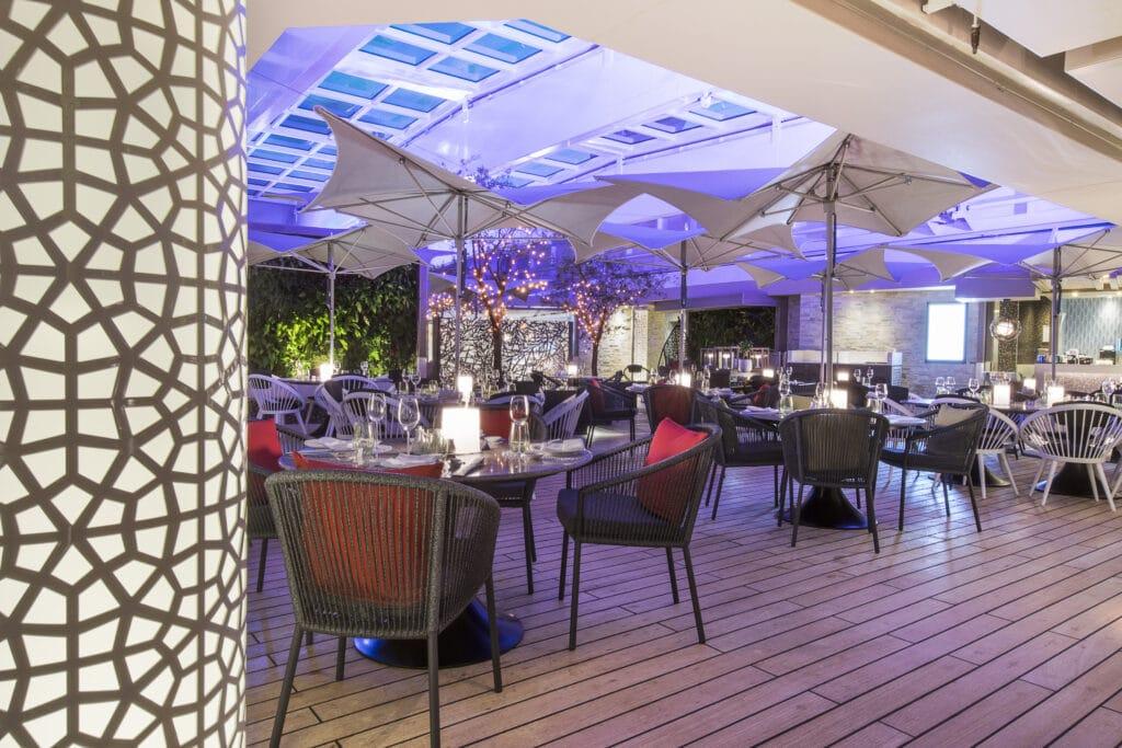 Cruiseschip-Crystal Serenity-Crystal Cruises-Restaurant