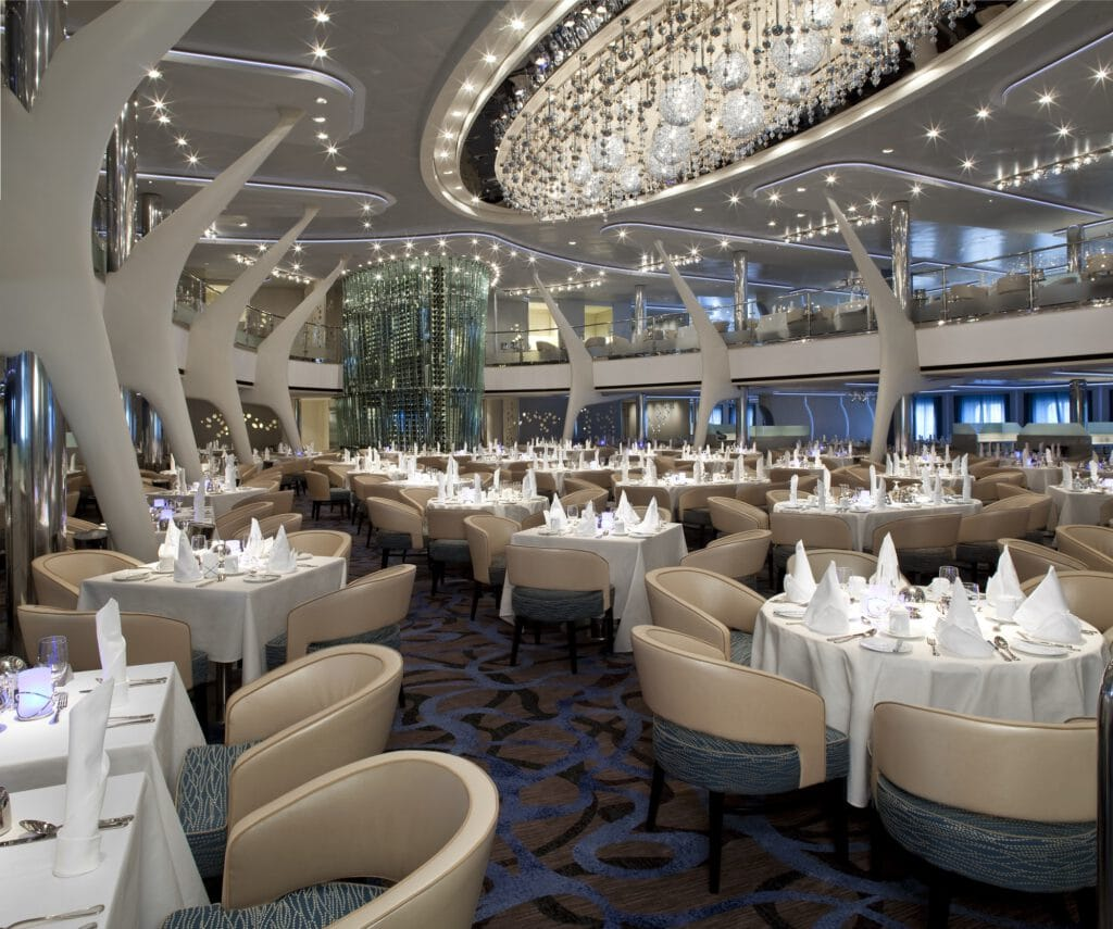 Cruiseschip-Celebrity Eclipse-Celebrity Cruises-Restaurant Moonlight Sonata
