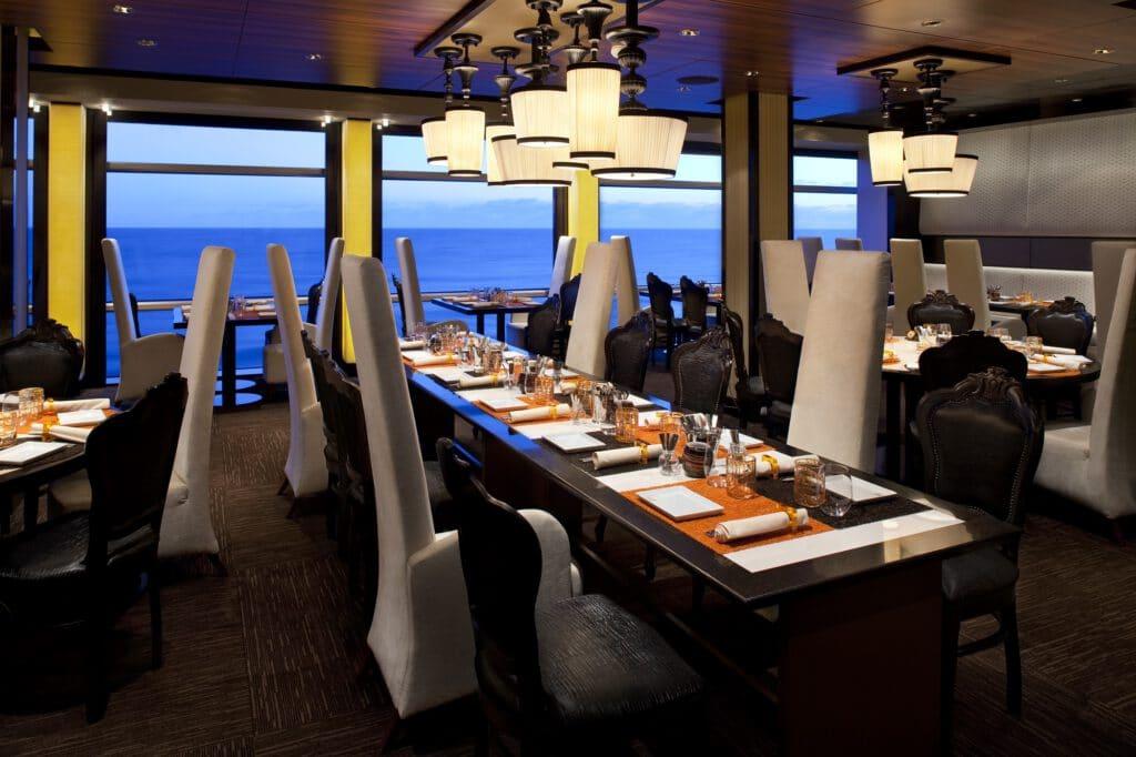 Cruiseschip-Celebrity Eclipse-Celebrity Cruises-Restaurant Qsine