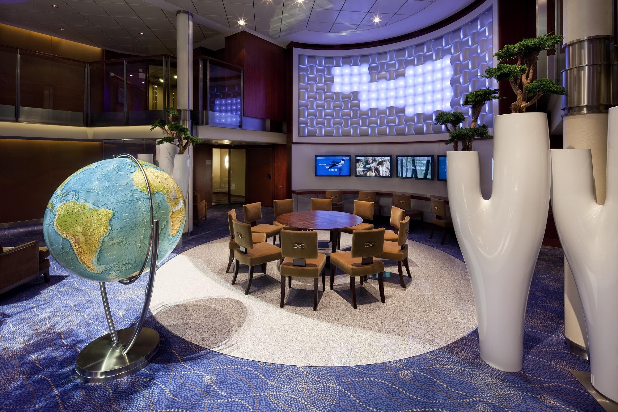 Cruiseschip-Celebrity Eclipse-Celebrity Cruises-Earth Lounge