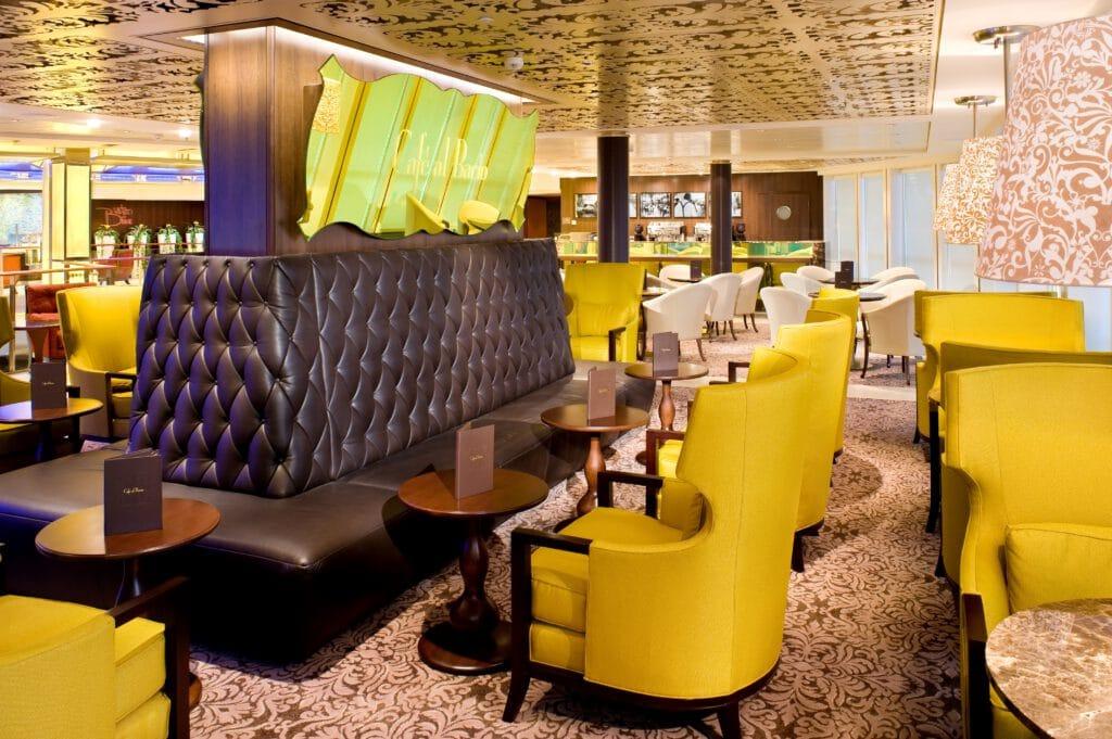 Cruiseschip-Celebrity Solstice-Celebrity Cruises-Cafe Al Bacio