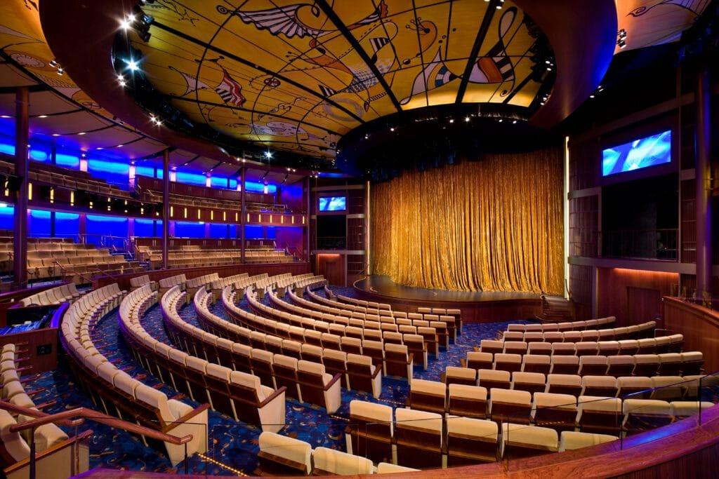 Cruiseschip-Celebrity Solstice-Celebrity CruisesTheater
