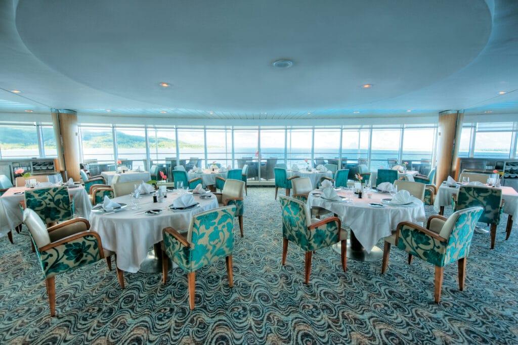 Paul Gauguin Restaurant La Veranda Cruise Cruiseschip