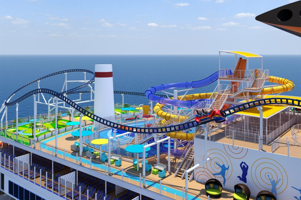 Cruiseschip-Carnival Mardi Gras-Carnival-Entertainment