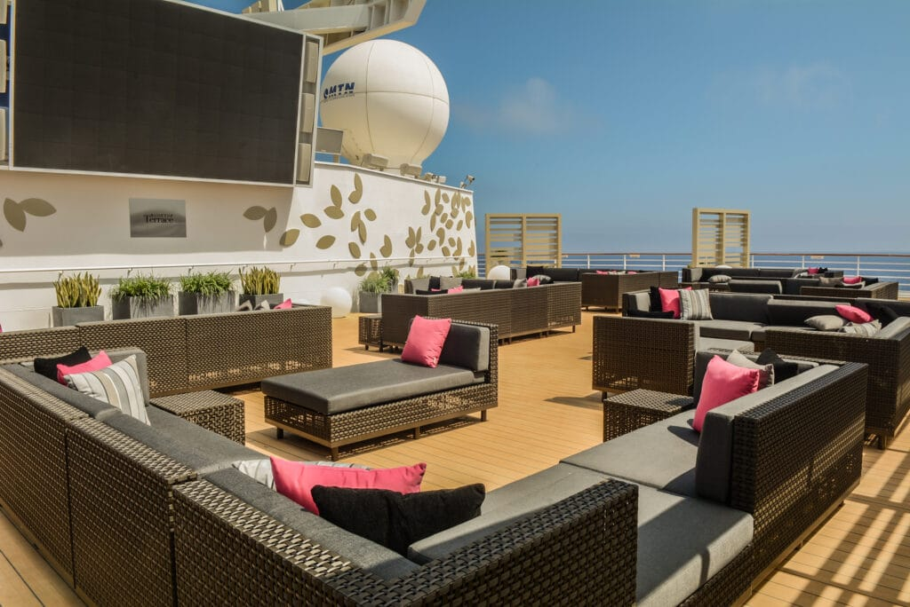 Cruiseschip-Celebrity Constellation-Celebrity Cruises-Rooftop Terras