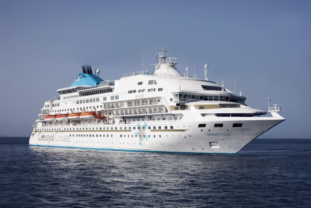 Cruiseschip-Celestyal Crystal-Celestyal-Schip