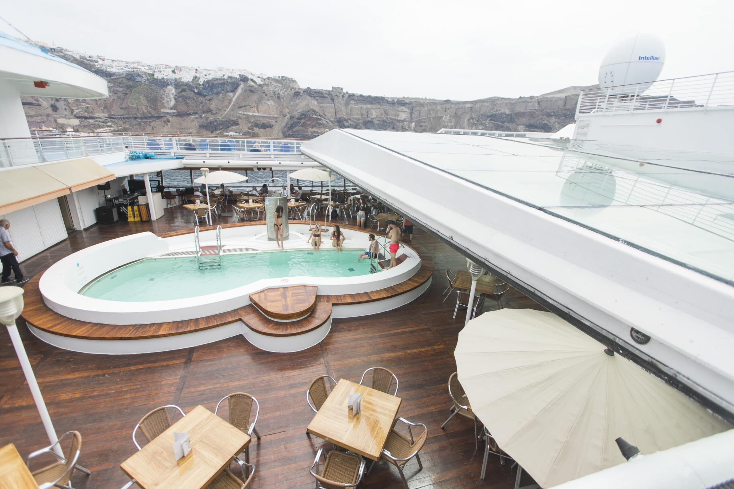 Cruiseschip-Celestyal Crystal-Celestytal-Deck
