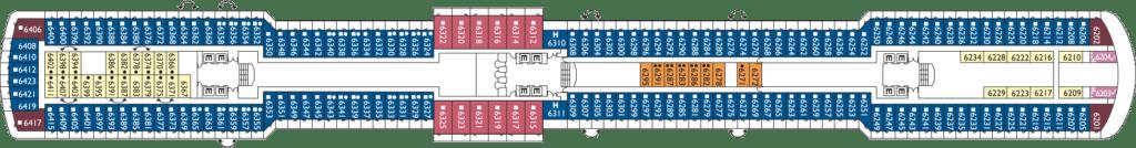 Costa-Cruises-Costa-Deliziosa-dek-6-Ortensia