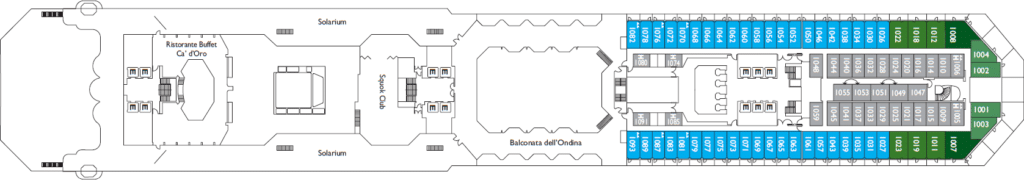 Costa-Cruises-Costa-Favolosa-dek-10-Escorial