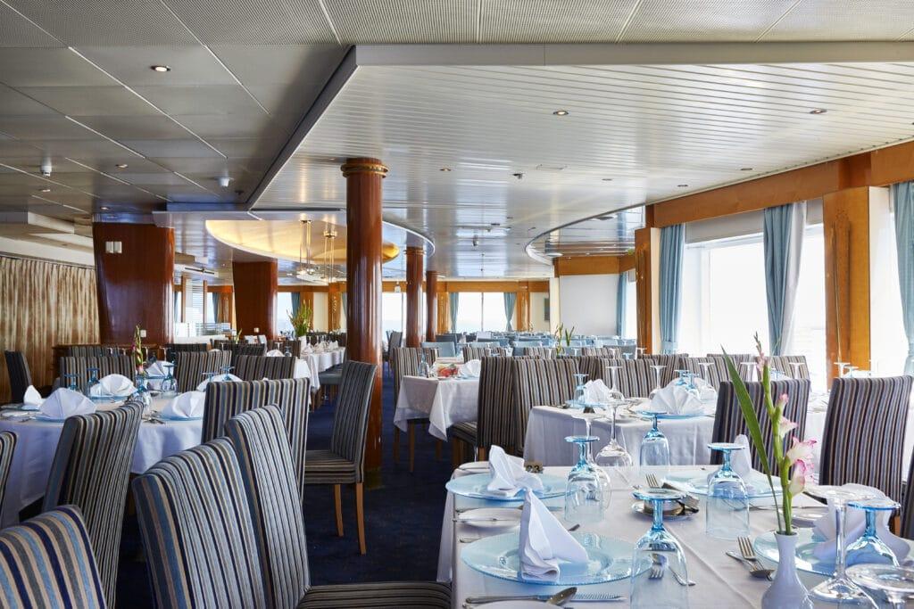 Cruiseschip-Celestyal Crystal-Celestyal-Restaurant