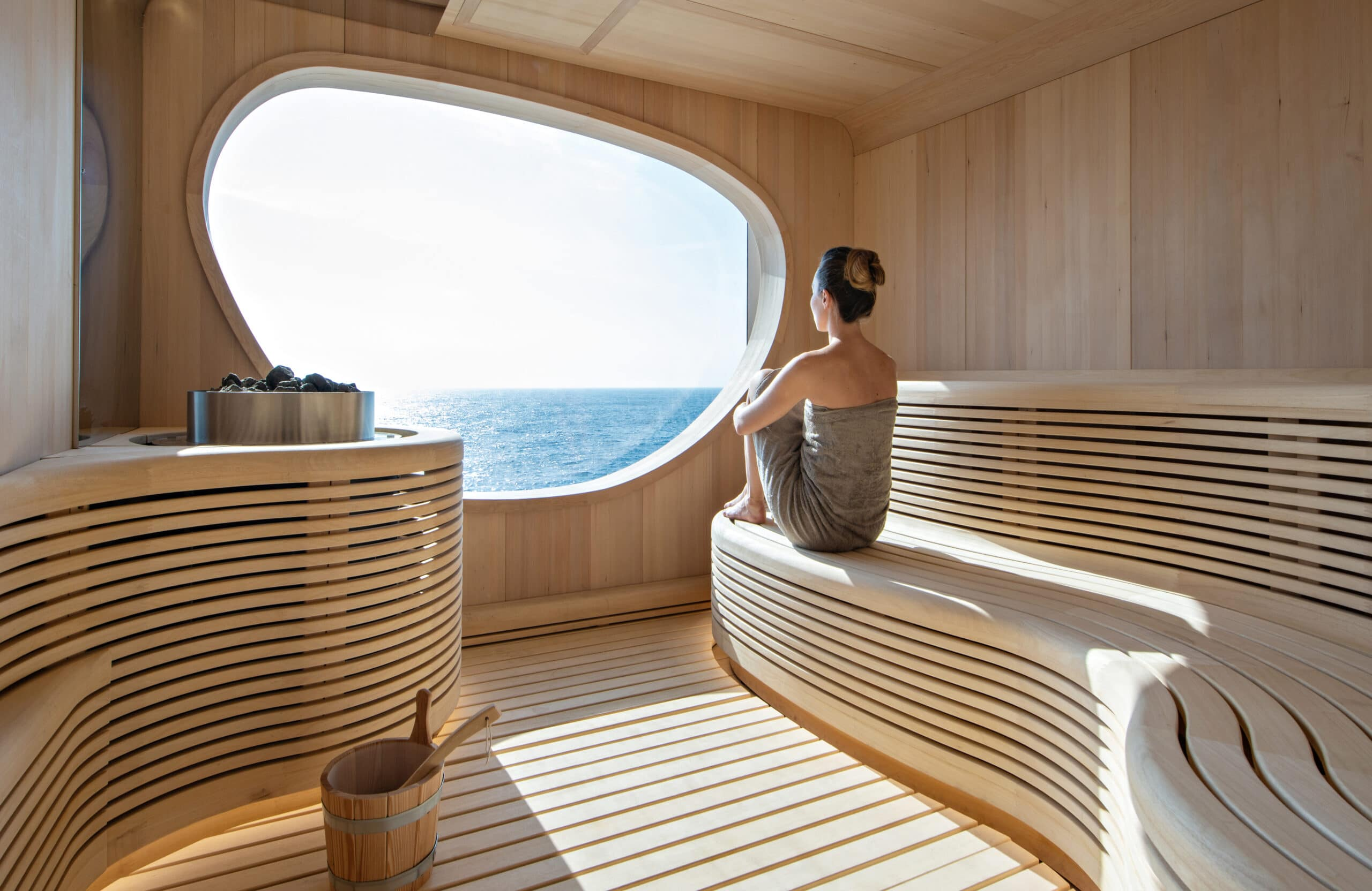 Cruiseschip-Le Bougainville-Ponant Yacht Cruises-Sauna