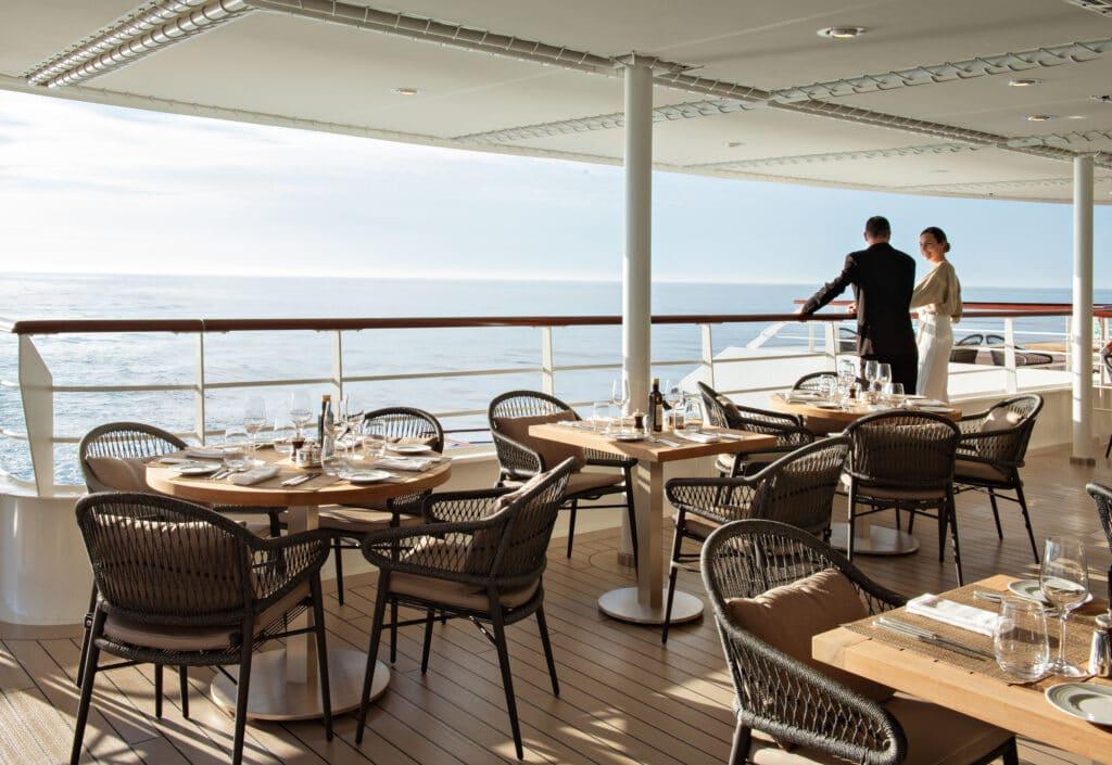 Cruiseschip-Le Bougainville-Ponant Yacht Cruises-Deck