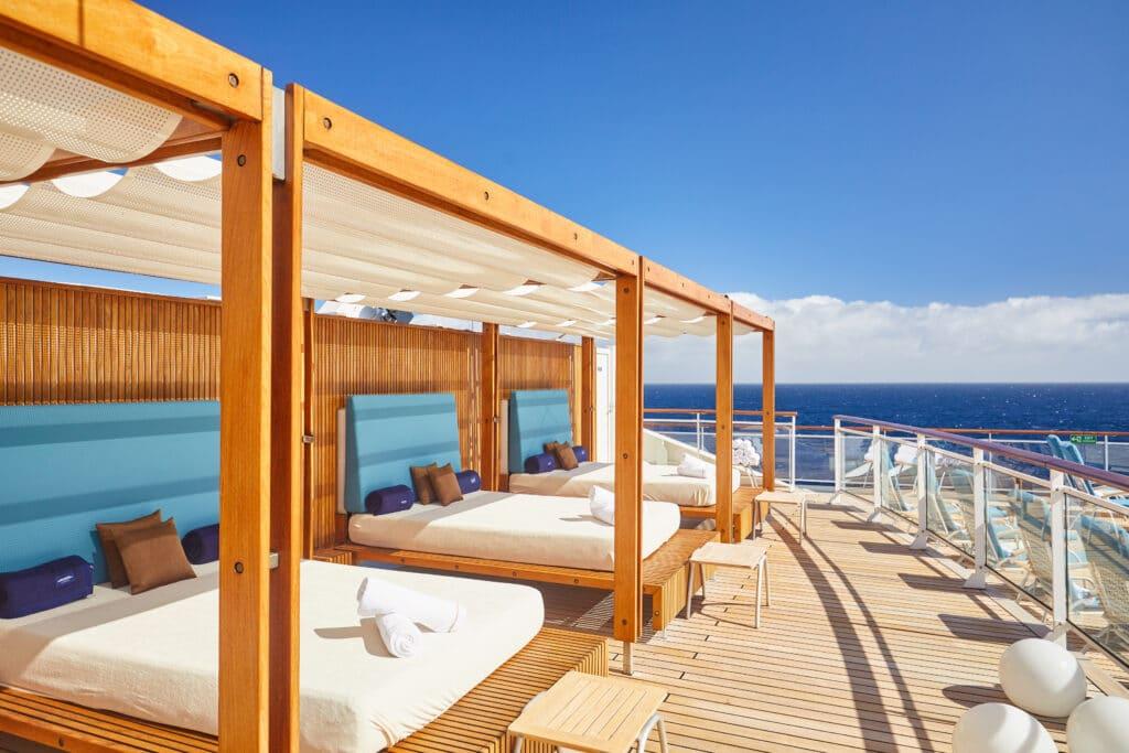 Cruiseschip-MS Europa 2 -Hapag Lloyd Cruises-Deck