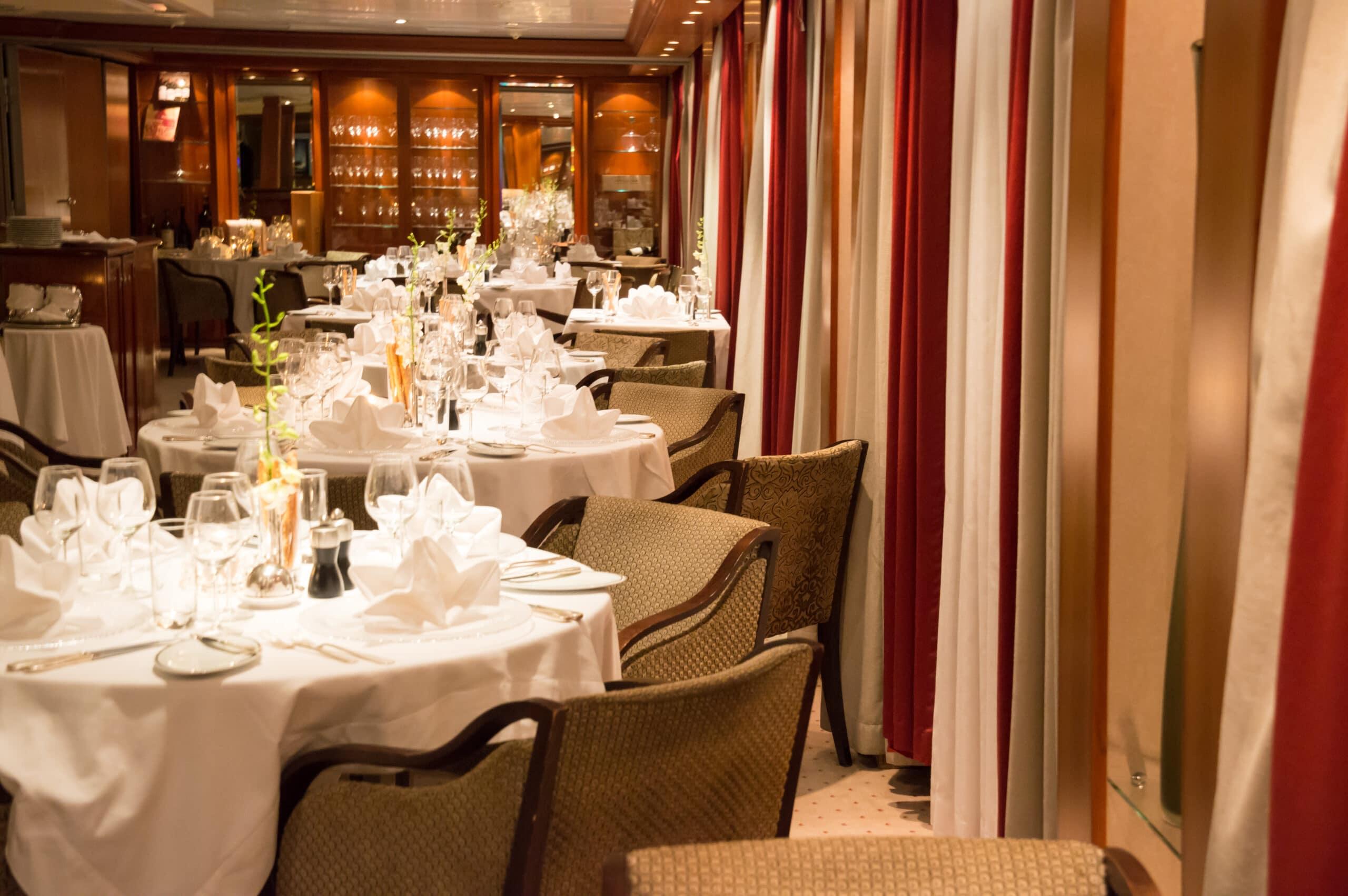 Cruiseschip-SeaDream I-Seadream Yacht Club-Restaurant