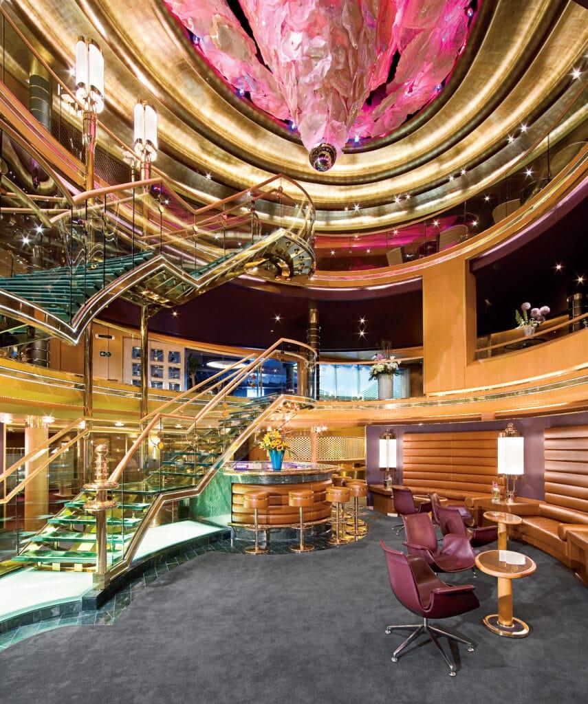 cruiseschip - Holland America Line - Eurodam - Atrium
