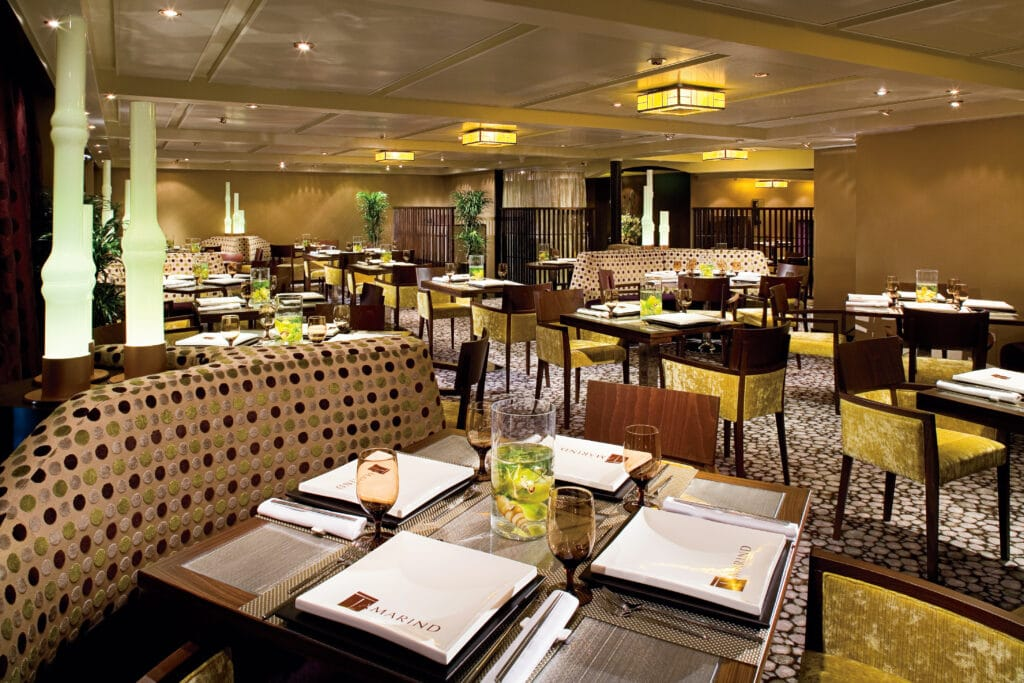 cruiseschip - Holland America Line - Eurodam - Tamarind Restaurant