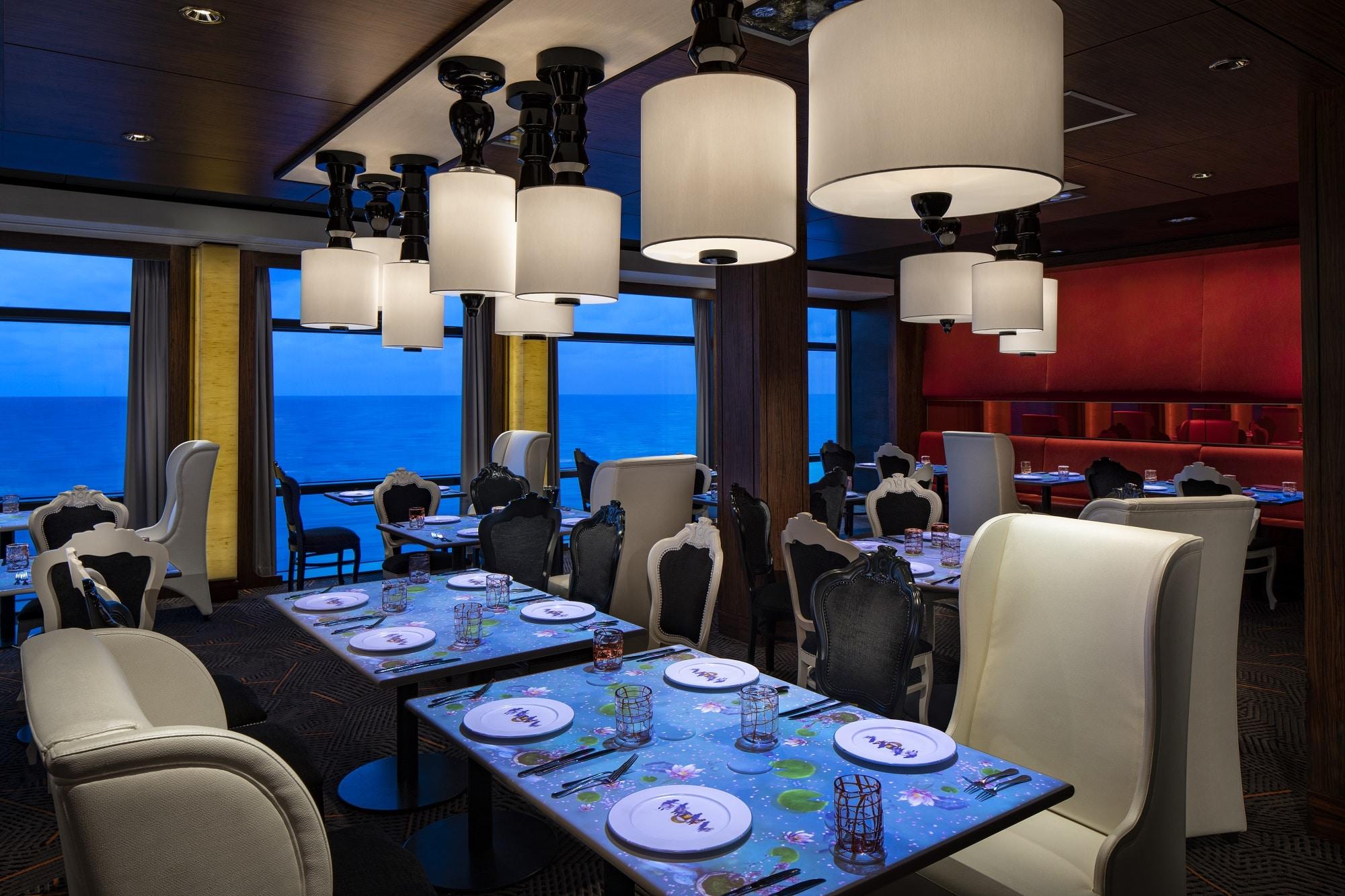 Cruiseschip-Celebrity Equinox-Celebrity Cruises-Restaurant Qsine