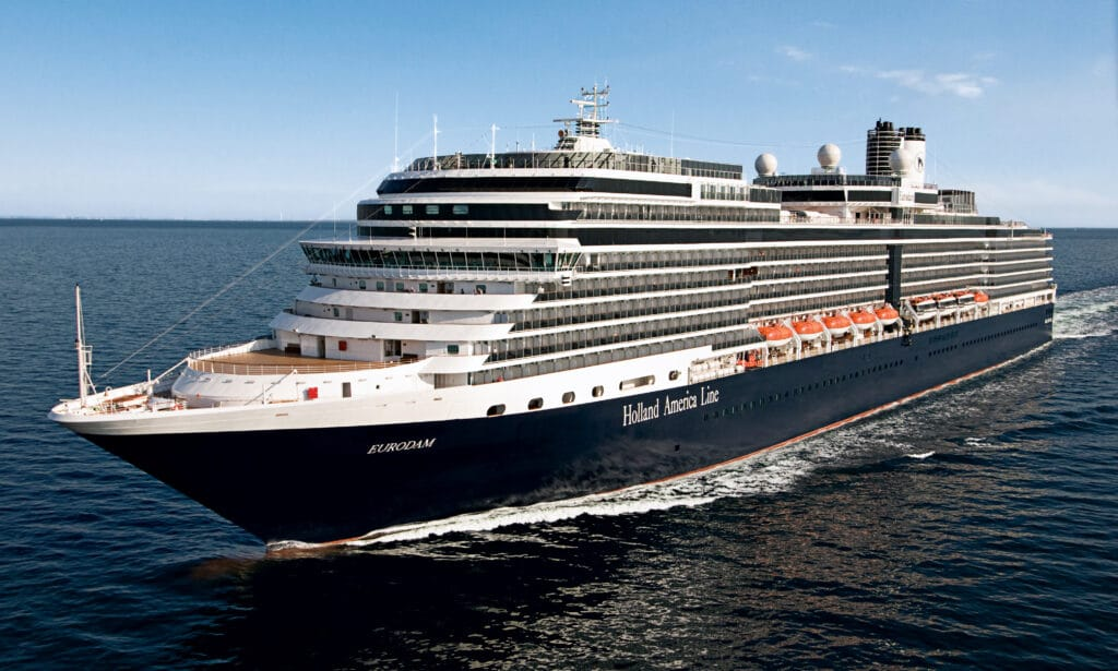cruiseschip - Holland America Line - Eurodam - schip