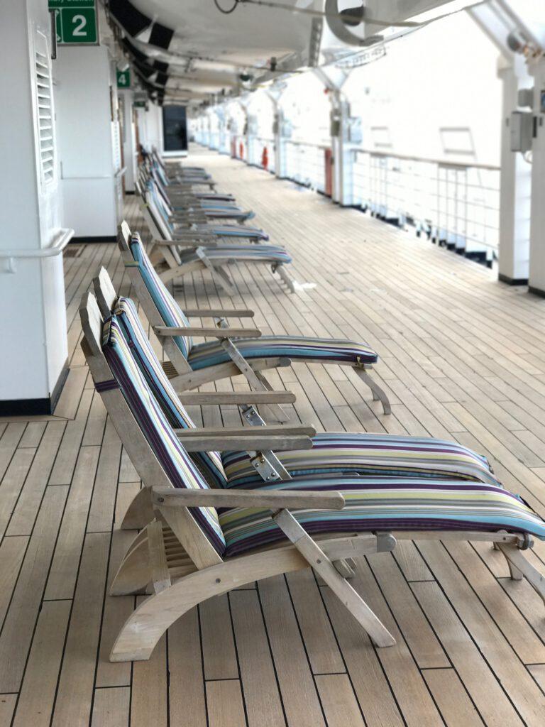 cruiseschip - Holland America Line - Eurodam - Promenade