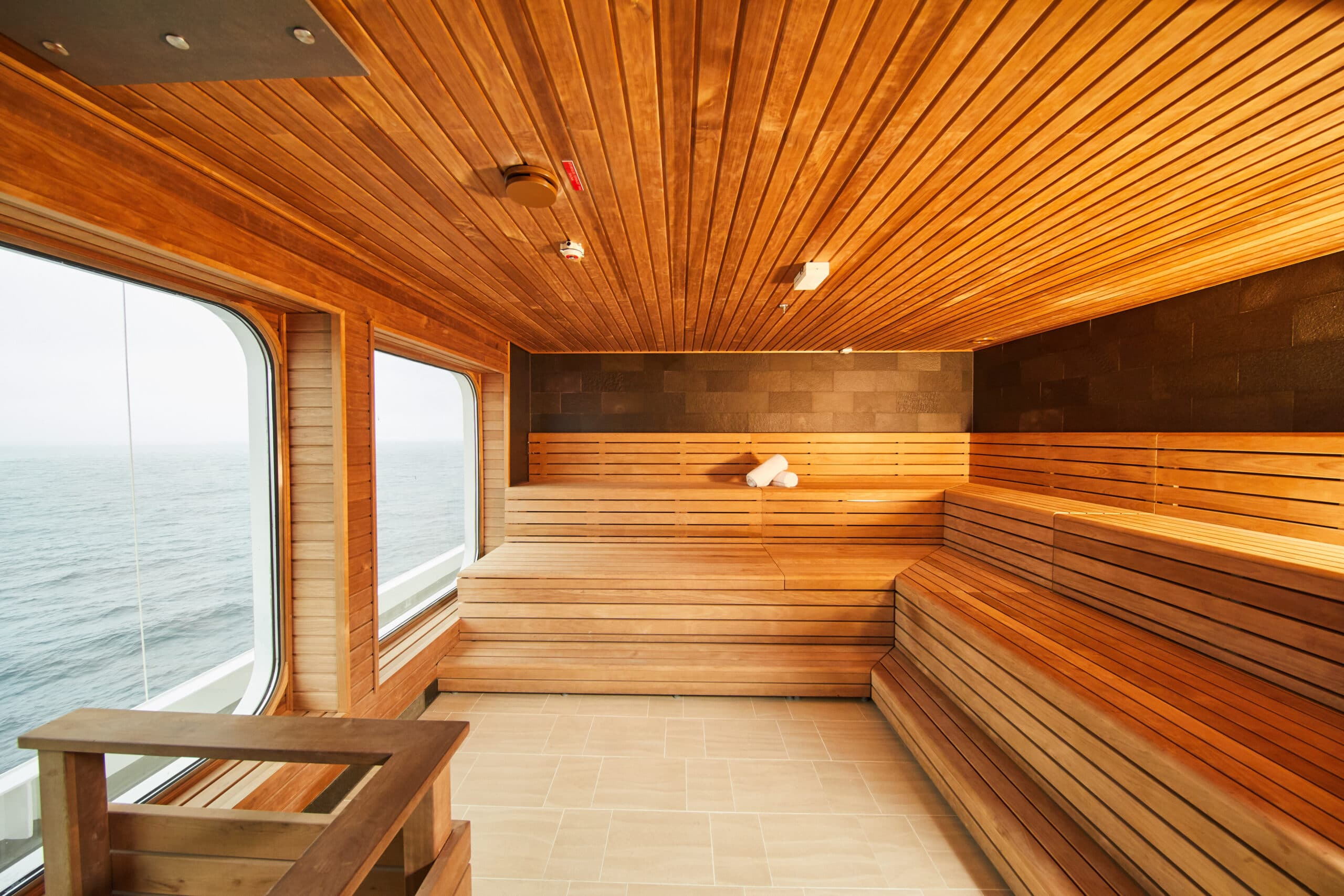 Cruiseschip-Hanseatic Nature-Hapag-Lloyd Cruises-Sauna