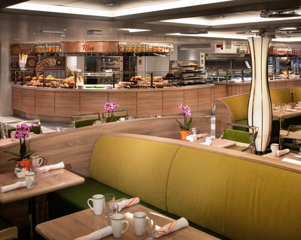 cruiseschip - Holland America Line - Nieuw Statendam - Lido Restaurant