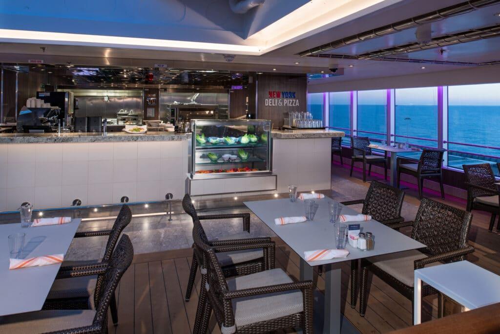 cruiseschip - Holland America Line - Nieuw Statendam - New York Pizza