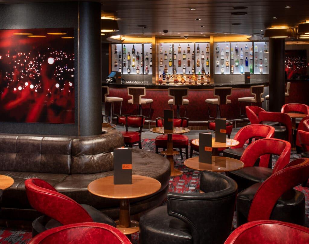 cruiseschip - Holland America Line - Nieuw Statendam - Rock Room Bar