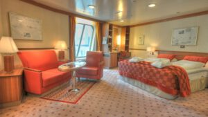 Cruiseschip-Hurtigruten-MS Fram-Schip-Expedition Suite-Grand Suite-Categorie MG