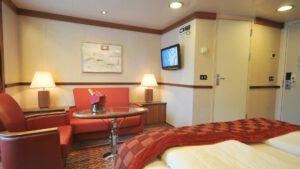 Cruiseschip-Hurtigruten-MS Fram-Schip-Expedition Suite-Suite-Categorie M2 en M4